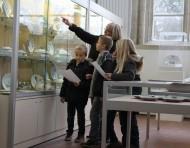 À petits pas dans le musée...