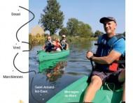 Des activités sur l'eau et à vélo
