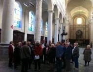 Un vitrail allemand dans le chœur