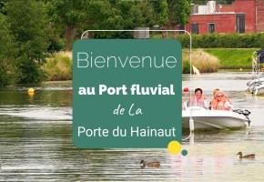 Porte ouverte sur le Port fluvial de La Porte du Hainaut