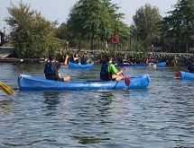 Parc et Port de La Porte du Hainaut : sport et nature pour les élèves du lycée Couteaux