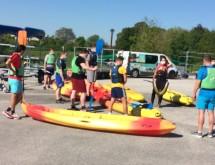 Au Port fluvial : découverte des sports de nature par les étudiants du STAPS de Valenciennes