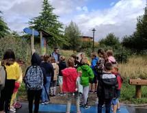 L'école sortante de Nivelle en visite à Saint-Amand-les-Eaux