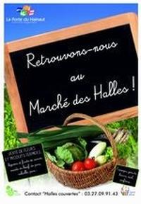 Marché du Terroir, Halle de Flines-Lez-Mortagne