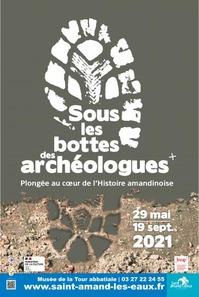 """Expo """"Sous les bottes des archéologues"""""""