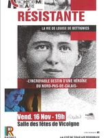 "Spectacle ""Résistante"", la vie de Louise de Bettignies"