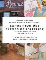 Expo des Elèves de l'Atelier L'Écurie