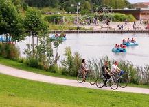 Ouverture des activités au Parc de La Porte du Hainaut - Raismes