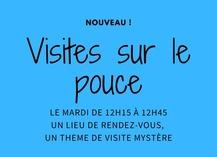 Visites sur le pouce, le mardi - Saint-Amand-les-Eaux