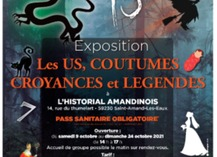 Expo : Les us, coutumes, croyances et légendes - Saint-Amand-les-Eaux