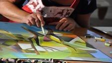Expo travaux d'élèves de l'Écurie