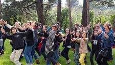 Happy Manif, au Parc de La Porte du Hainaut